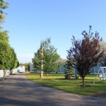 Cottages are located in a quiet area on our 1-1/2 acre grounds.