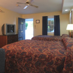 2 Queen Beds, Non Smoking, Bath with Shower.